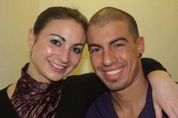 Anne und Anichi - Vize-Salsa-Weltmeister 2009 - hier beim Interview mit Salsango