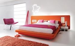 neue Farben im Schlafzimmer - von superba betten