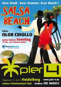 Salsa Beach-Party in Heidelberg