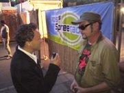 Don Macson beim Interview mit Salsango