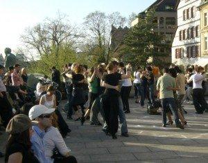 new age tango - Straßentango -Bild von Dagmar Olssen