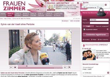 Sylvie van der Vaart - kurze Haare - auf Frauenzimmer.de