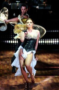 Sophia Thomalla bei Lets dance 2010-4 - (c) RTL / Andreas Friese