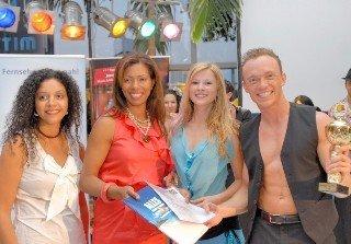 Merengue - Deutsche Meister 2010 - v.r. Costa Gedecke und Samantha Striegel