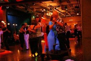 Tango tanzen zur Tango-Woche in Zürich