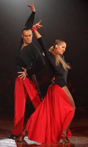 Franco Formica und Oxana Lebedew - eines der erfolgreichsten deutschen Tanzpaare auch bei der WM dabei