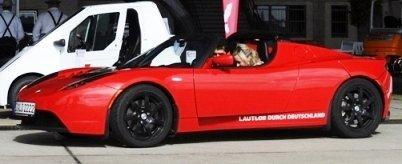 Tesla Roadster - Seitenansicht