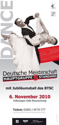 Turniertanz - Deutsche Meisterschaft 2010 Hauptgruppe S Standard Braunschweig