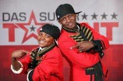 Zito und Nilson Mufume beim Supertalent 2010 - Foto: (c) RTL / Stefan Gregorowius
