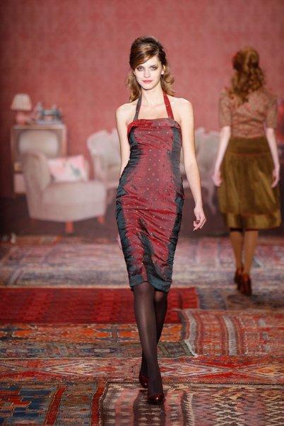 Lena Hoschek -Mercedes Benz Fashion Week Berlin 2011 AW11_15