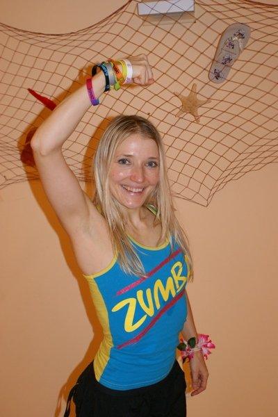 Lida Kahl - Zumba-Instructorin