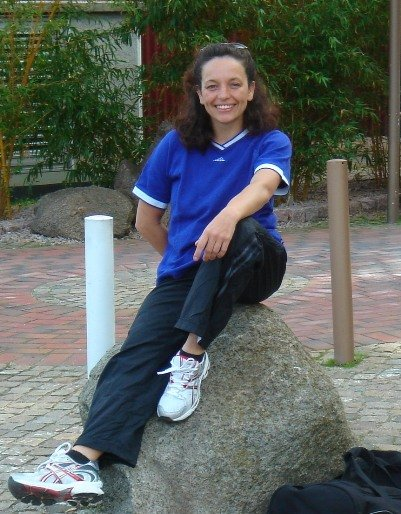 Zumba-Instructorin Claudia Storck aus Giessen
