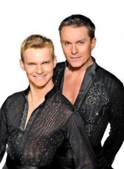 Alfons Haider und Vadim Garbuzov bei den Dancing Stars 2011 Foto: ORF/Thomas Ramstorfer