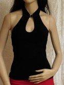 Tanz-Mode - schwarzes Top bei Zartmond