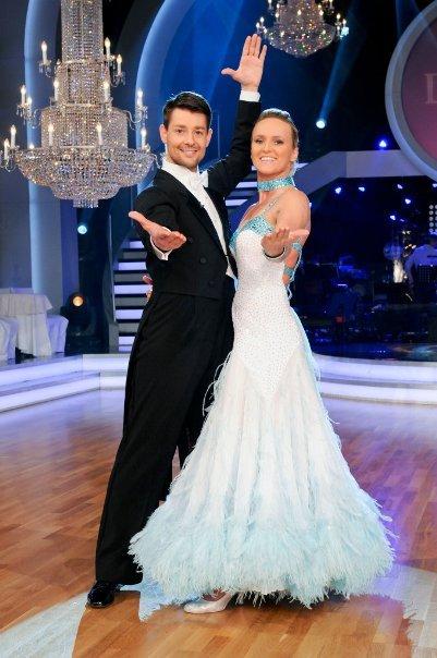 Alexandra Meissnitzer und Florian Gschaider bei den Dancing Stars 2011 - Foto: ORF/Ali Schafler