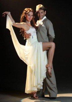 Lets dance 2011 - Liliana Matthäus und Massimo Sinato - Foto: (c) RTL / Stefan Gregorowius