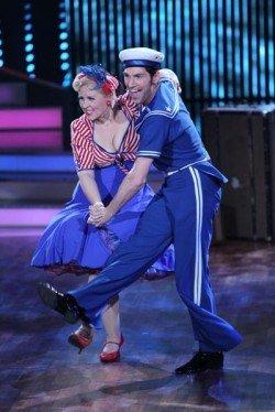 Maite Kelly mit Christian Polanc bei Lets dance 2011 - Foto: (c) RTL / Stefan Gregorowius
