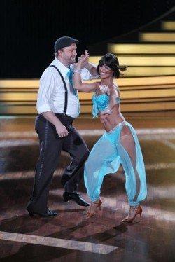 Melissa Ortiz-Gomez und Moritz A. Sachs bei Let's dance 2011 - Foto: (c) RTL / Stefan Gregorowius