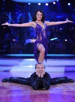 Uwe Kröger und Babsi Koitz Dancing Stars 2011 Folge 3 - Foto: ORF/Ali Schafler