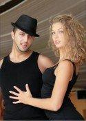 Kim Wojtera mit (Aki) Periklis Kalaitzis - ehemals Deutsche Salsa Meister