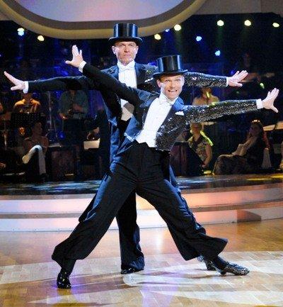 Alfons Haider und Vadim Garbuzov Halbfinale Dancing Stars 2011 - Foto: ORF - Ali Schafler