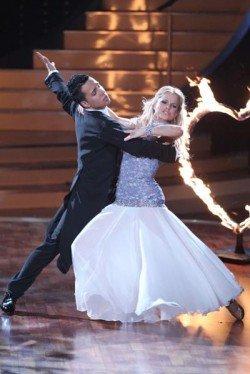 Checker und Sarah Latton im Let's dance 2011 Halbfinale - Foto: (c) RTL / Stefan Gregorowius