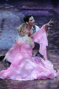 Maite Kelly und Christian Polanc sind im Finale von Let's dance 2011 Foto: (c) RTL / Stefan Gregorowius
