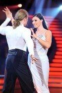 Mirna Jukic mit Gerhard Egger bei den Dancing Stars 2011 raus - Foto: ORF-Ali Schafler