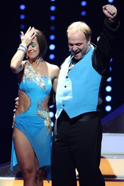 Moritz A Sachs und Melissa Ortiz-Gomez bei Lets dance 2011 - Foto: (c) RTL / Stefan Gregorowius