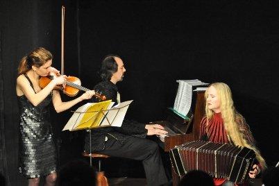 La Bicicleta beim Konzert zu ihrer neuen CD Tango progresivo