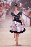 Mode der 50er Jahre bei Lena Hoschek auf der Fashion Week Berlin Juli 2011
