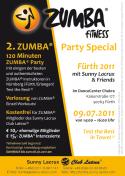 Zumba Party in Fürth am 9. Juli 2011