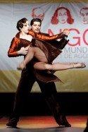 Manuela Rossi - Cristian David Correa zur Tango-Welmeisterschaft - schon Vize-Weltmeister in den letzten beiden Jahren