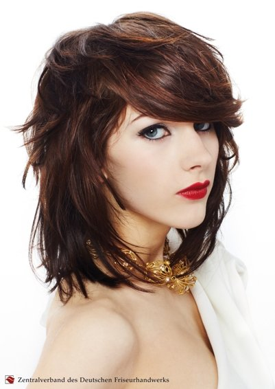 Moderne Frisuren Damen