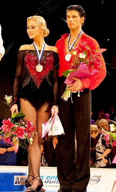Justas Kucinskas - Jekaterina Romankova zur Tanz-EM 2011 Leipzig