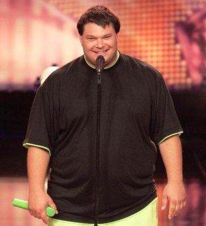 Michael Krappel - der Gute-Laune-Bär vom Supertalent 2011 - Foto: (c) RTL / Stefan Gregorowius