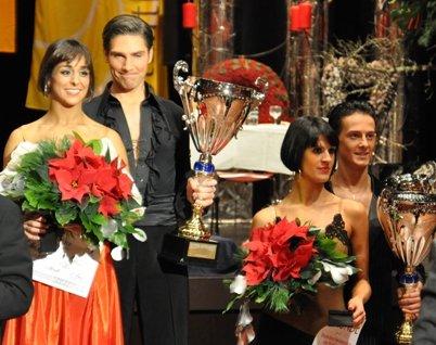 Tanz-DM 2011 Kür Latein - Melissa Ortiz-Gomez - Christian Polanc - Nina Trautz und Valera Musuc