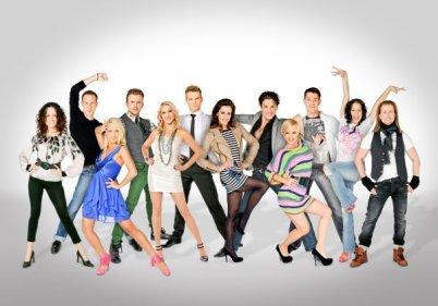 Die Tanz-Profis der Dancing Stars 2012 auf ORF - Foto: (c) ORF-Ali Schafler