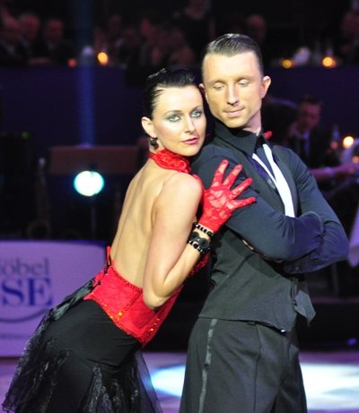 Adrian und Johanna-Elisabeth Klisan zur Deutschen Meisterschaft 2012 Kür der Professionals März 2012 - Bild 1