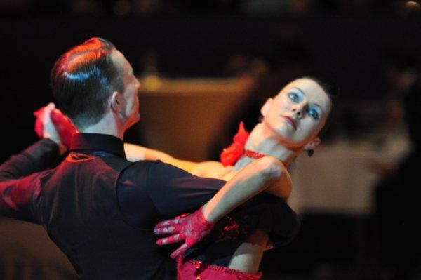 Adrian und Johanna-Elisabeth Klisan zur Deutschen Meisterschaft 2012 Latein-Kür der Professionals März 2012 - Bild 4