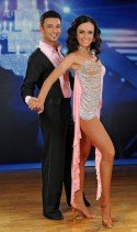 Babsi Koitz mit Marco Ventre bei den Dancing Stars 2012 - Foto: (c) ORF - Ali Schafler