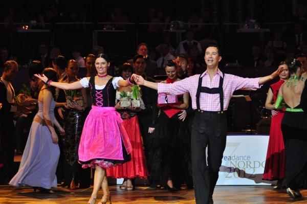 Boris Baßler - Daniela Heinzmann - Deutsche Meisterschaft 2012 Professionals Kür Latein März 2012 - Bild 4