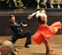 Christian Polanc und Melissa Ortiz-Gomez zur DM Kür Latein