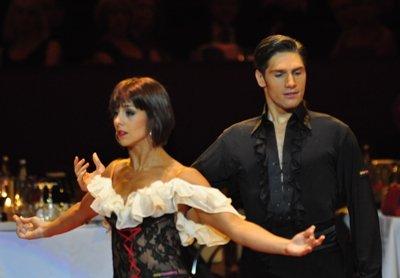Christian Polanc und Melissa Ortiz-Gomez zur Deutschen Meisterschaft 2012 Professionals Latein-Kür März 2012 - Bild 1