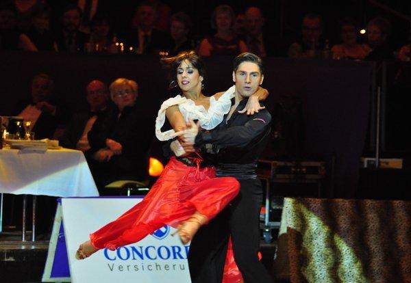 Christian Polanc und Melissa Ortiz-Gomez zur Deutschen Meisterschaft 2012 Professionals Latein-Kür März 2012 - Bild 2