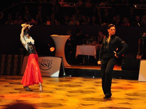 Christian Polanc und Melissa Ortiz-Gomez zur Deutschen Meisterschaft 2012 Professionals Latein-Kür März 2012 - Bild 3
