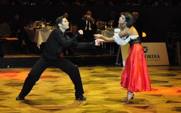 Christian Polanc und Melissa Ortiz-Gomez zur Deutschen Meisterschaft 2012 Professionals Latein-Kür März 2012 - Bild 4