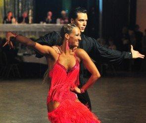 Ilia Russo und Oxana Lebedev beim GP von Deutschland Latein Tänze 2012 - 2
