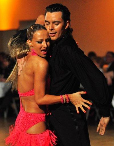 Ilia Russo - Oxana Lebedev 2013 wieder Deutsche Vize-Meister Lateinamerikanische Tänze