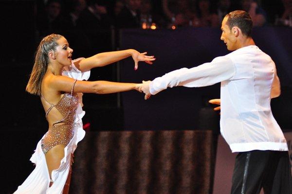 Jurij und Aleksandra Kaiser zur Deutschen Meisterschaft 2012 Professionals Kür Standard und Latein März 2012 - Bild 4